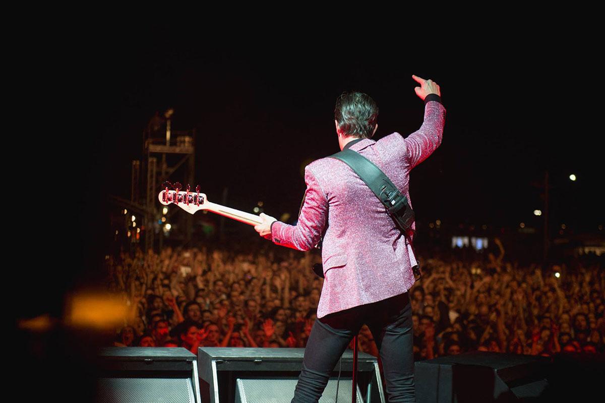 photo:: The Killers EJEKT Festival 2017